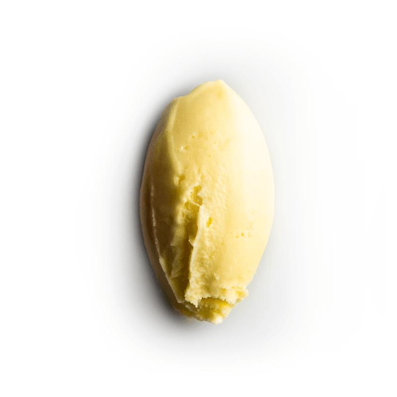 helado de albaricoque
