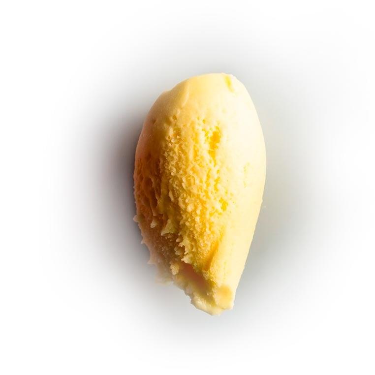helado de mandarino