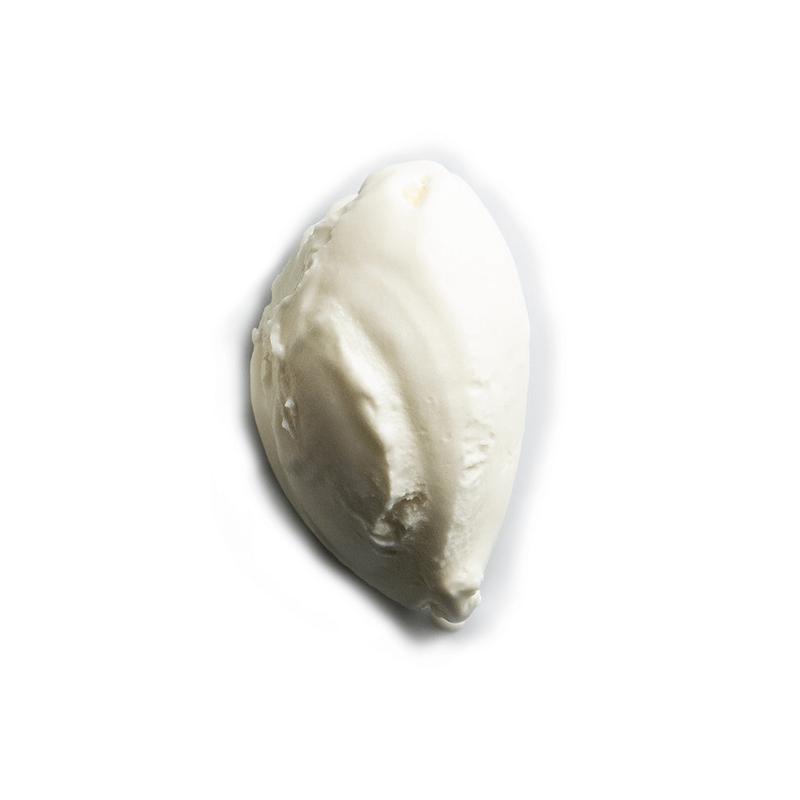 helado de queso de cabra