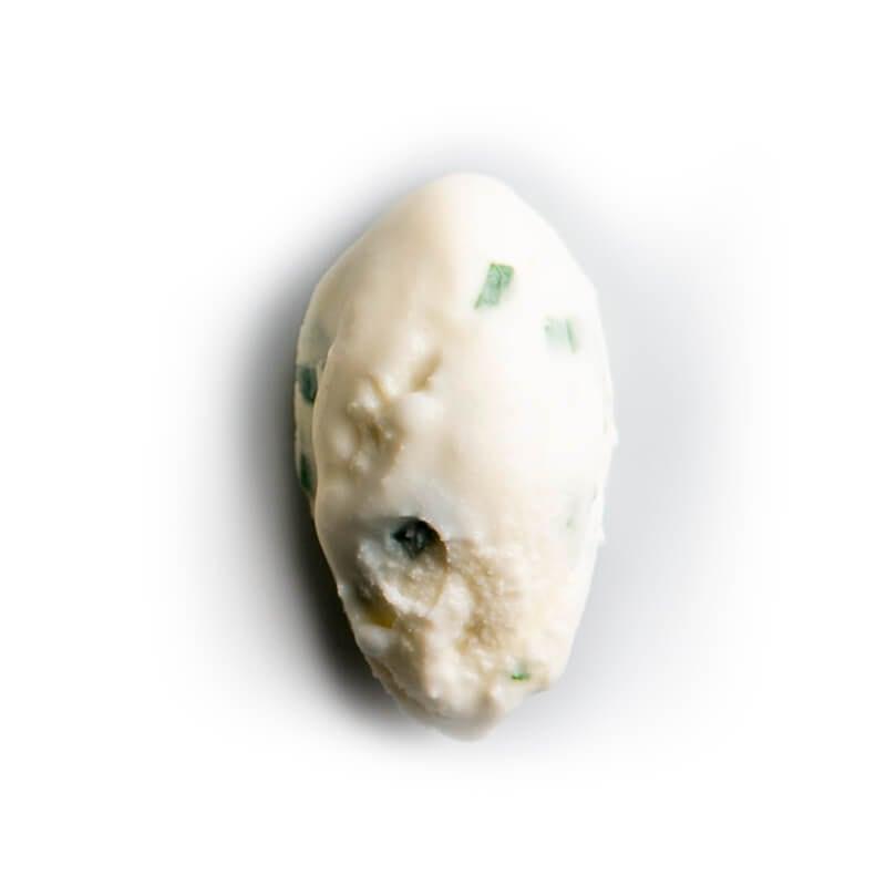 helado de menta